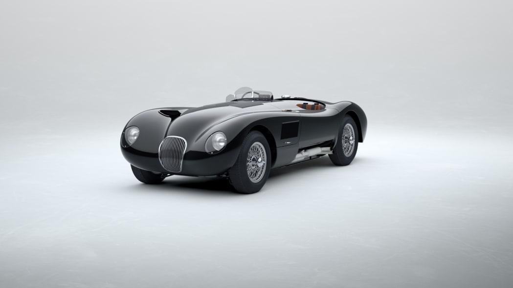 Jaguar Classic C-type_Beluga Black
