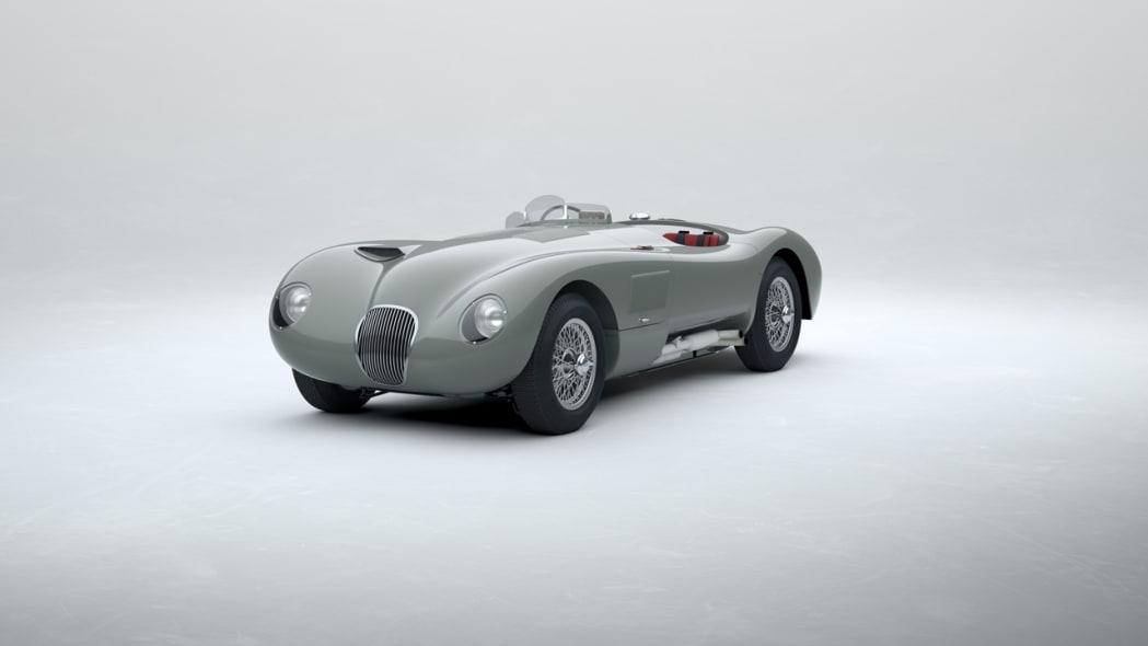 Jaguar Classic C-type_Birch Grey