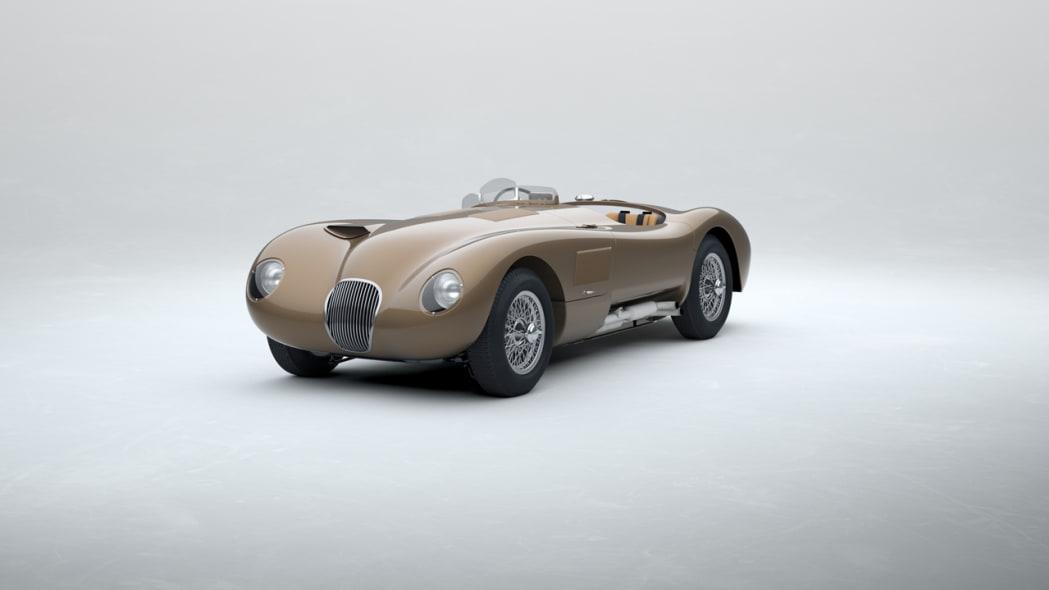 Jaguar Classic C-type_Bronze