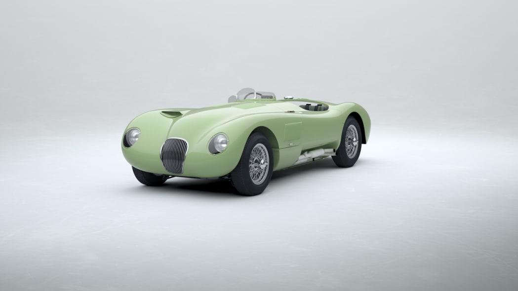 Jaguar Classic C-type_Pastel Green