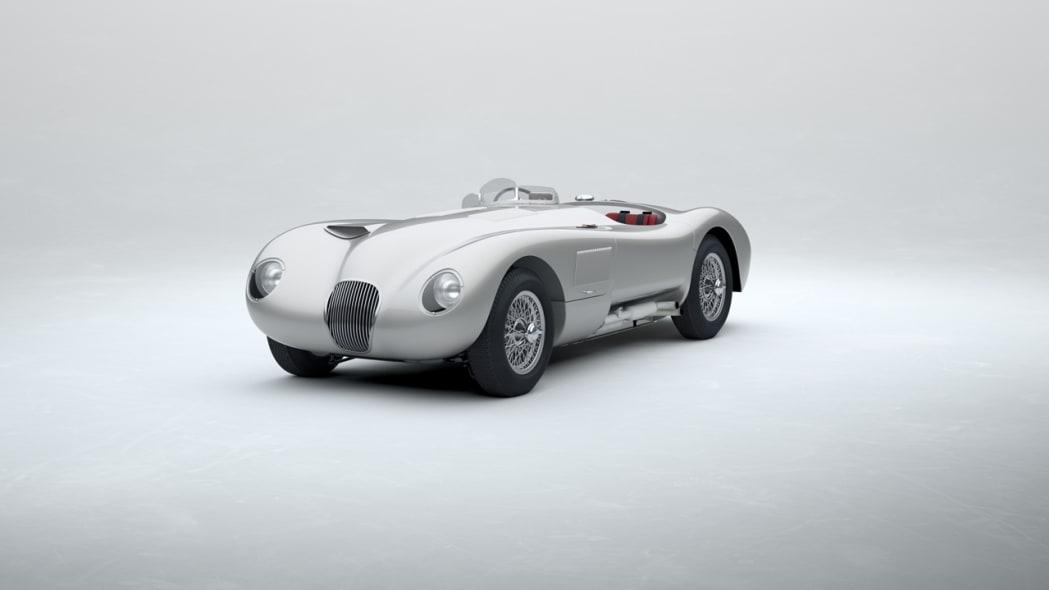 Jaguar Classic C-type_Platinum Silver