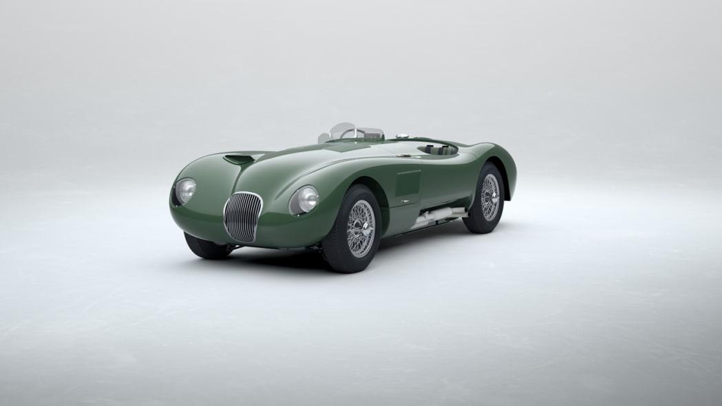 Jaguar Classic C-type_Suede Green_01