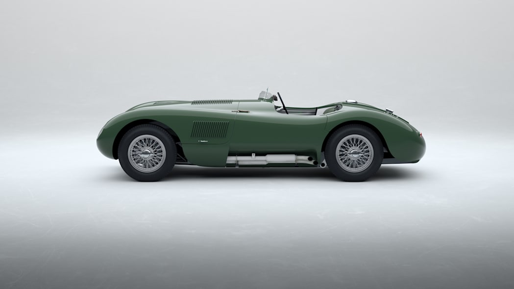 Jaguar Classic C-type_Suede Green_02