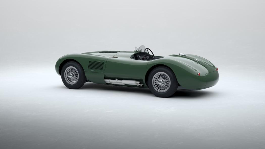 Jaguar Classic C-type_Suede Green_03