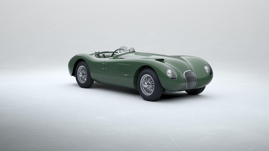 Jaguar Classic C-type_Suede Green_05