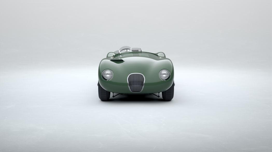 Jaguar Classic C-type_Suede Green_06