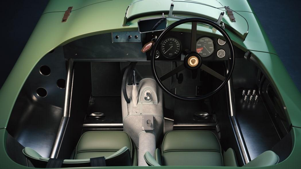 Jaguar Classic C-type_interior