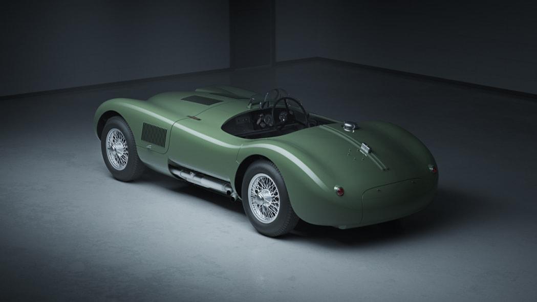 Jaguar Classic C-type_rear3q