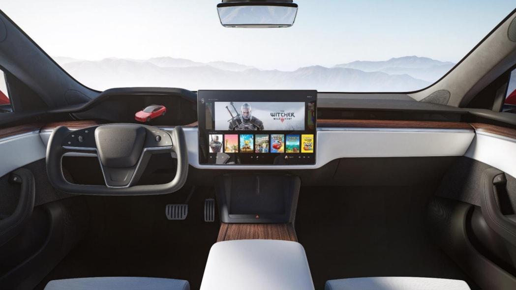 Updated Tesla Model S interior