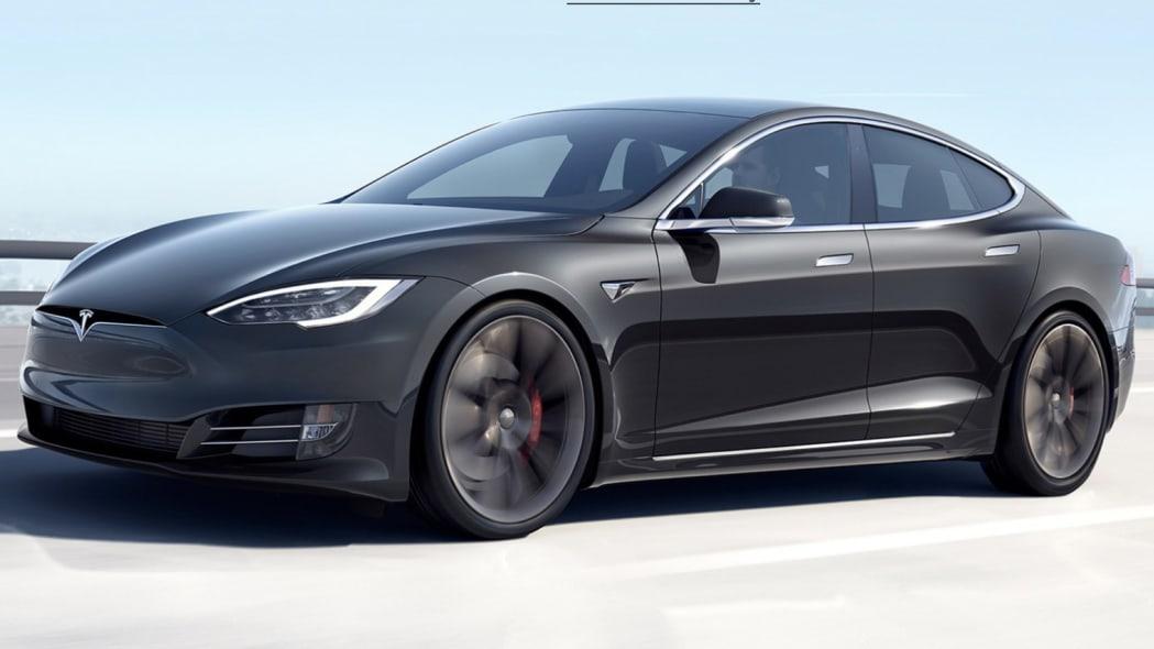 Updated Tesla Model S