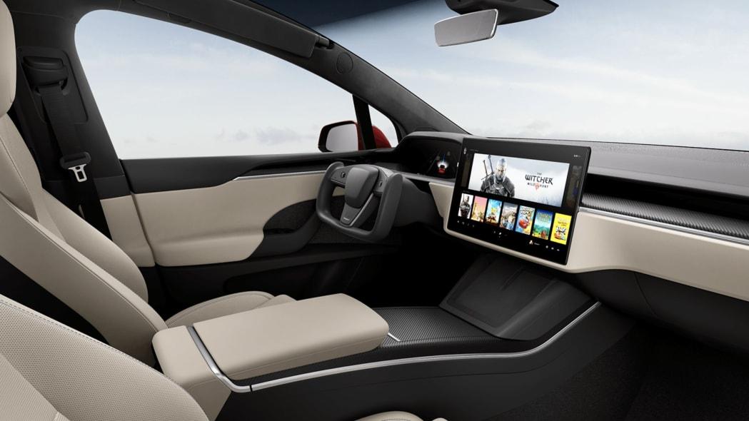 Tesla Model X Plaid