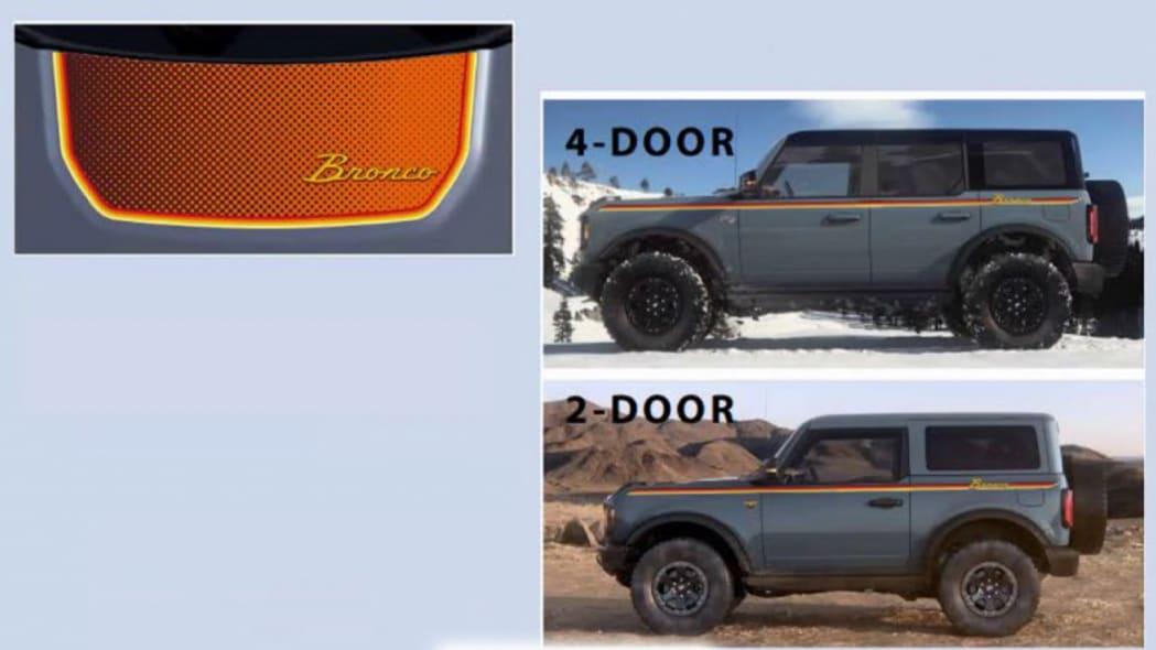 Ford Bronco accessories