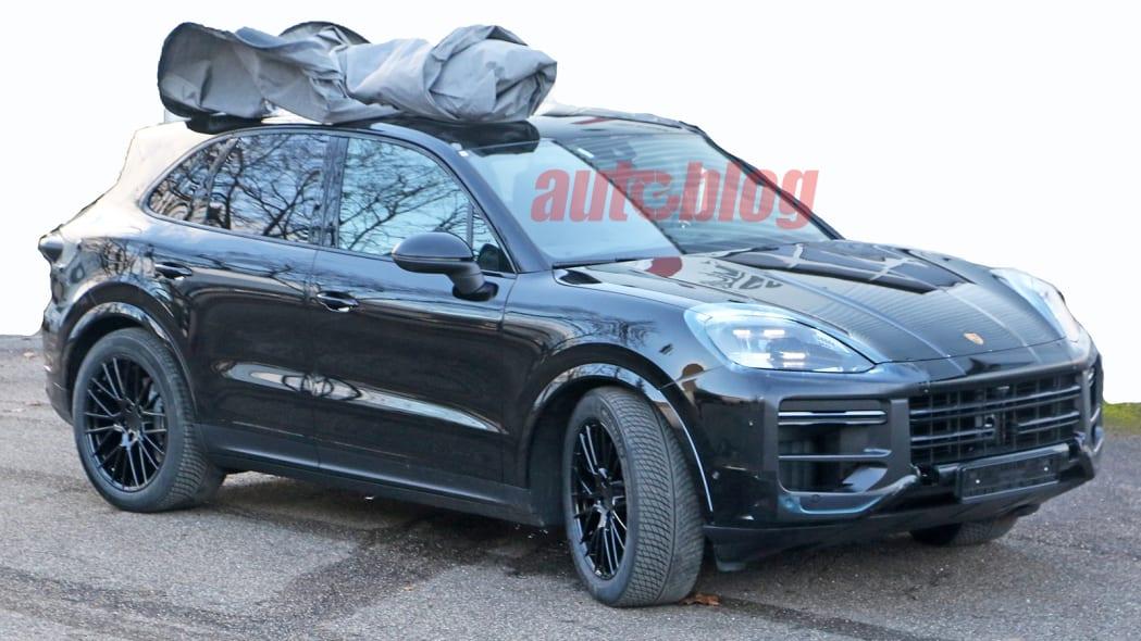2022 Porsche Cayenne facelift