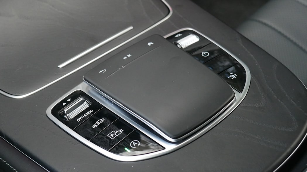 2021 Mercedes-Benz E450 Coupe MBUX touchpad
