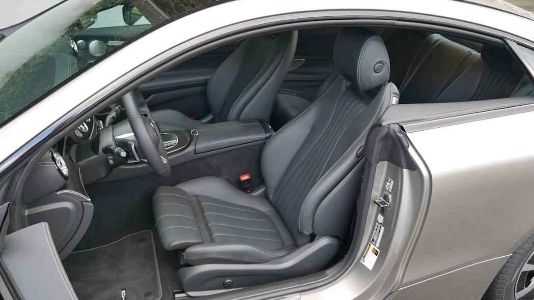 2021 Mercedes-Benz E450 Coupe front seat