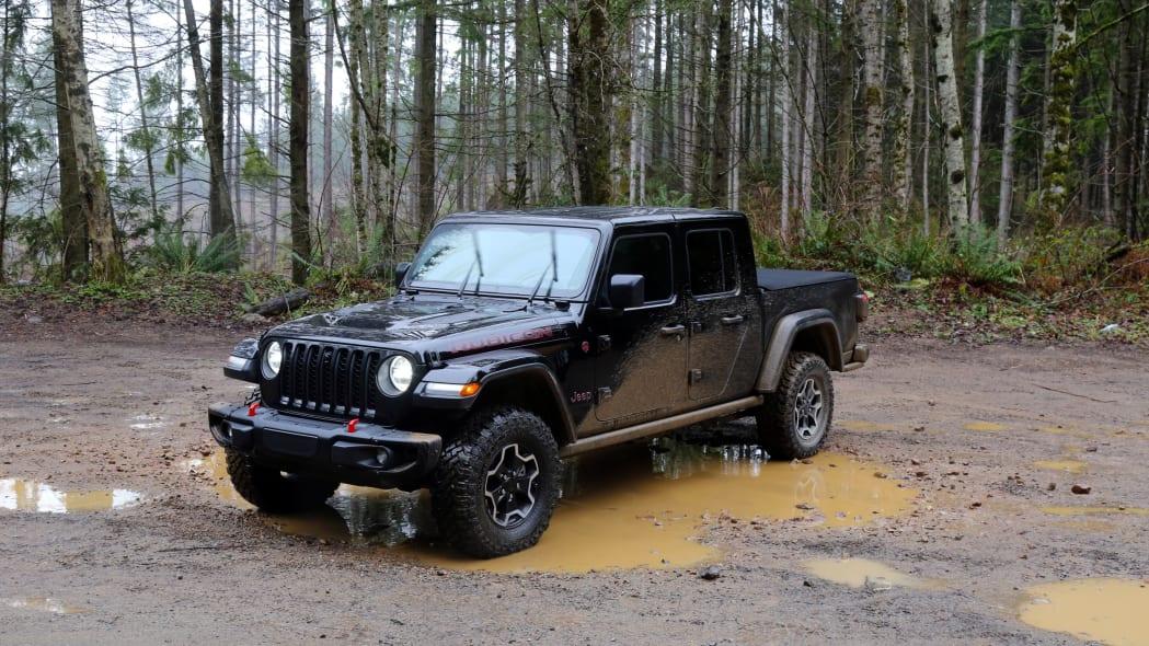 2021 Jeep Gladiator (Greg Rasa / Autoblog)
