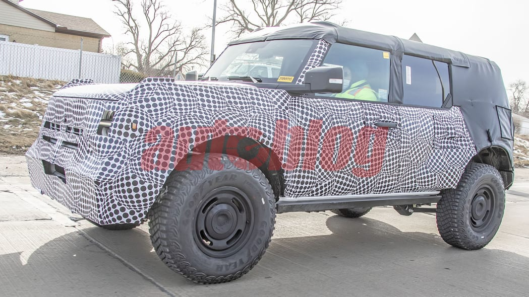 2022 Ford Bronco Heritage Edition prototype