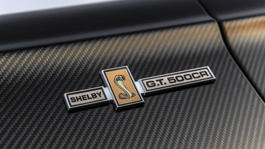 Classic Recreations' carbon fiber-bodied Shelby GT500CR