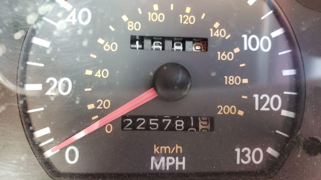 08 - 1997 Hyundai Accent GT in Colorado Junkyard - photo by Murilee Martin