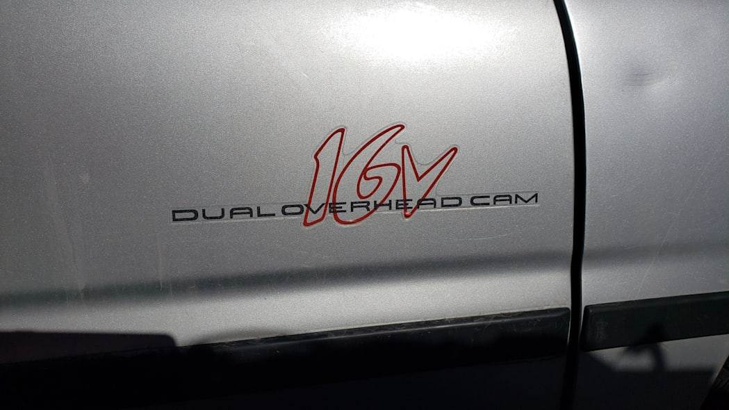 37 - 1997 Hyundai Accent GT in Colorado Junkyard - photo by Murilee Martin