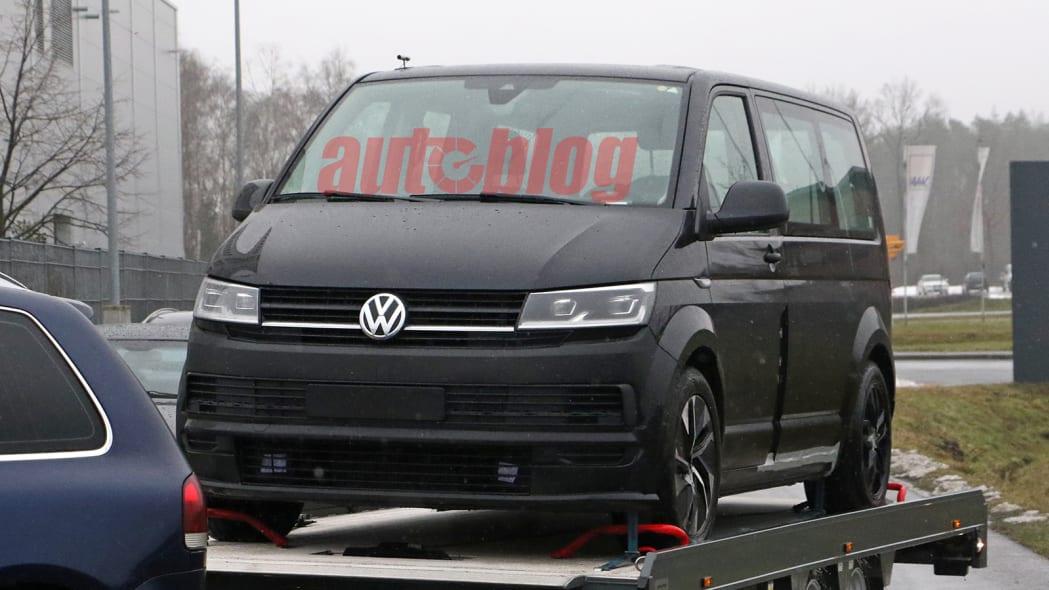 VW ID. Buzz test mule