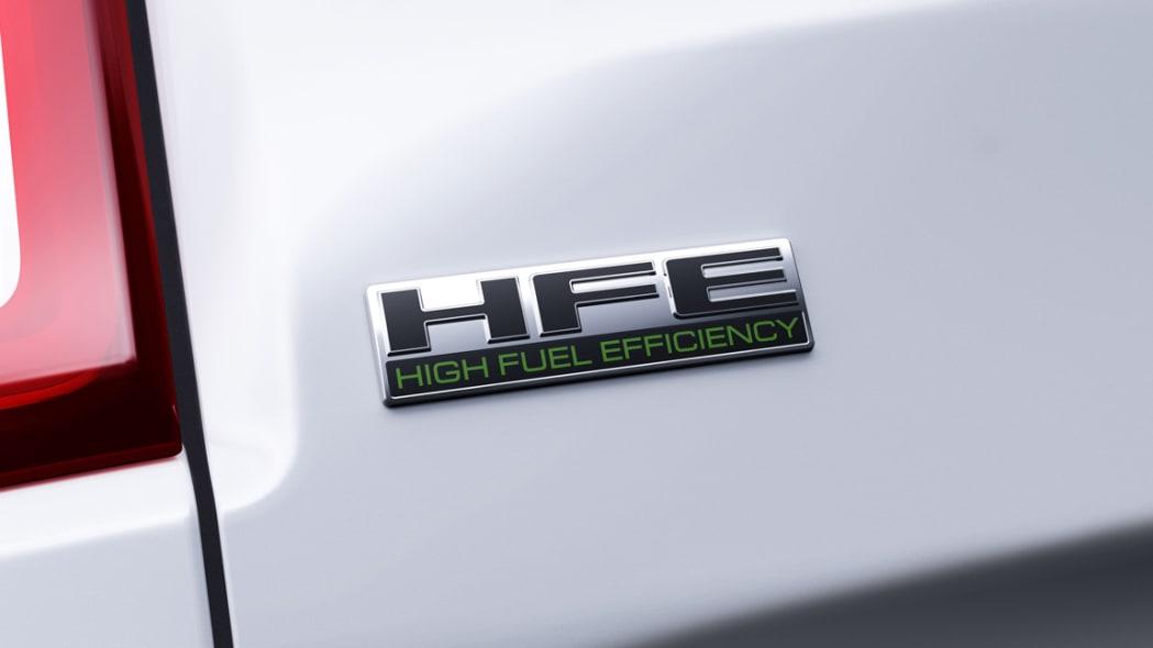 2021 Ram 1500 Tradesman HFE EcoDiesel badge