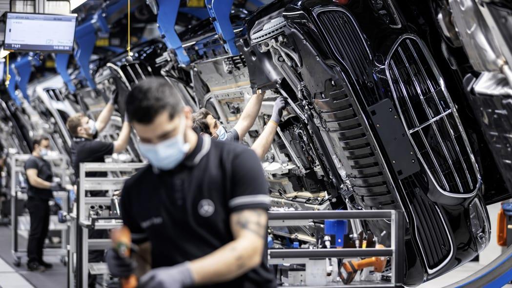 Mercedes-Benz 50-millionth vehicle built