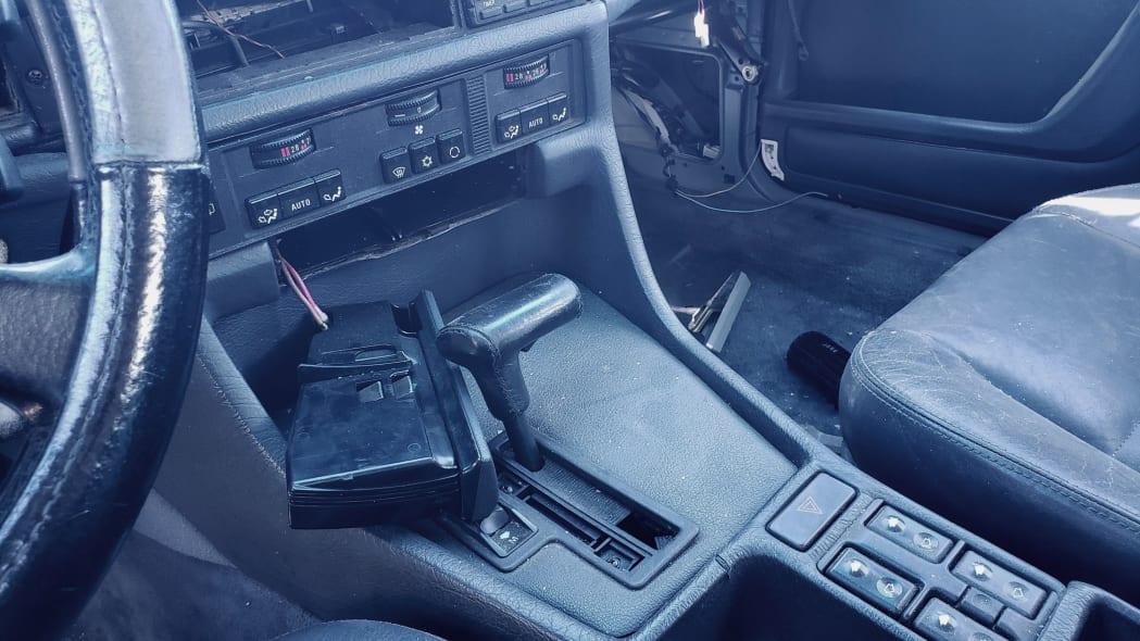 09 - 1987 BMW 735i in Colorado junkyard - photo by Murilee Martin