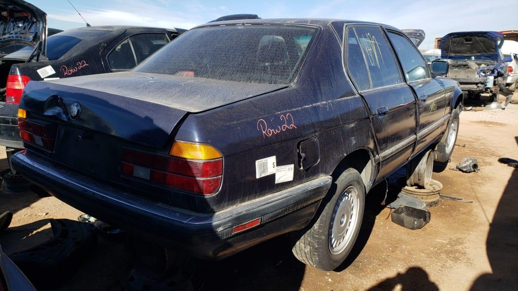 32 - 1987 BMW 735i in Colorado junkyard - photo by Murilee Martin