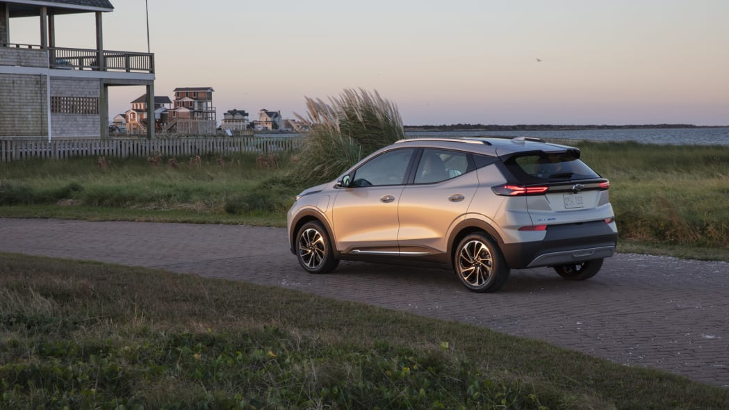 2022 Chevrolet Bolt EUV visiting the Kennedys