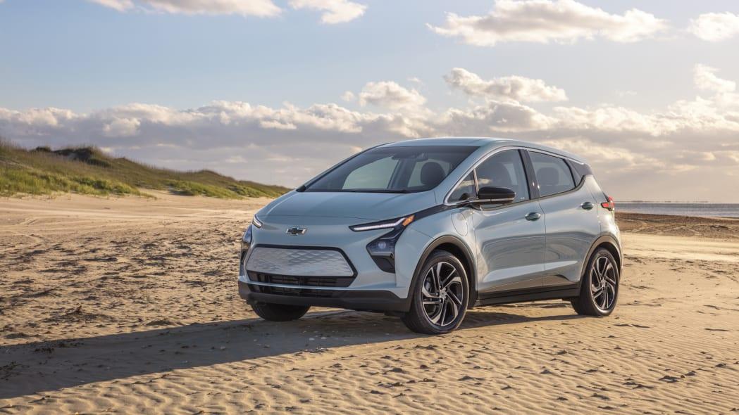 2022 Chevrolet Bolt EV front beach