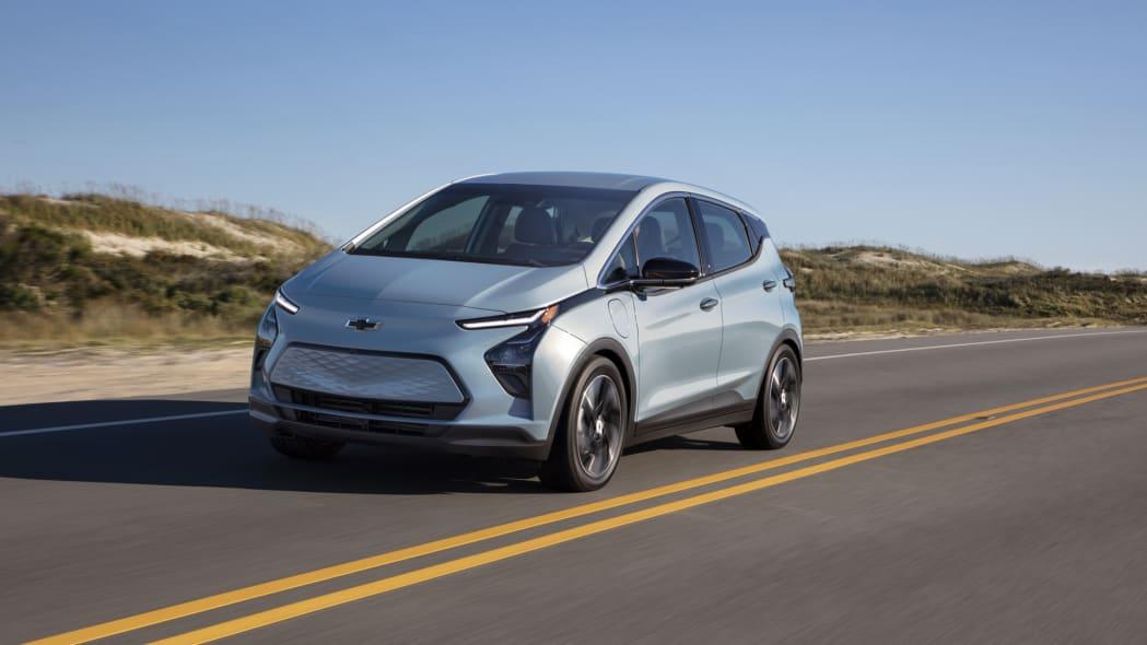 2022 Chevrolet Bolt EV front action