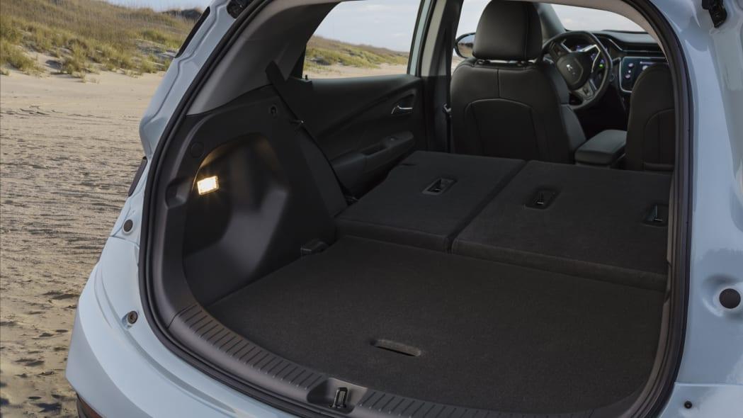 2022 Chevrolet Bolt EV cargo seats down