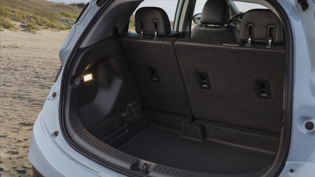 2022 Chevrolet Bolt EV cargo seats up