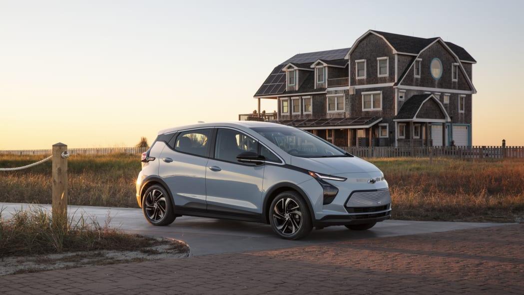 2022 Chevrolet Bolt EV front beach house