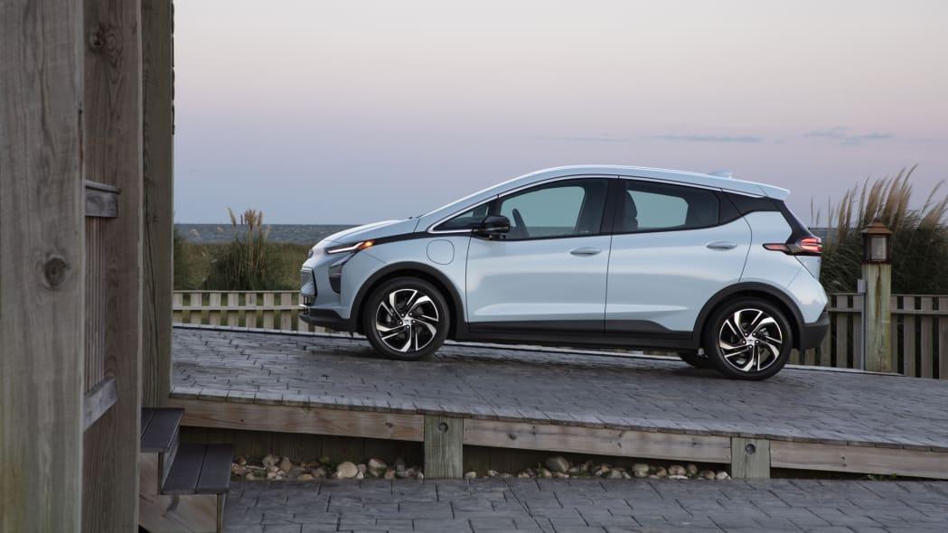 2022 Chevrolet Bolt EV ramp