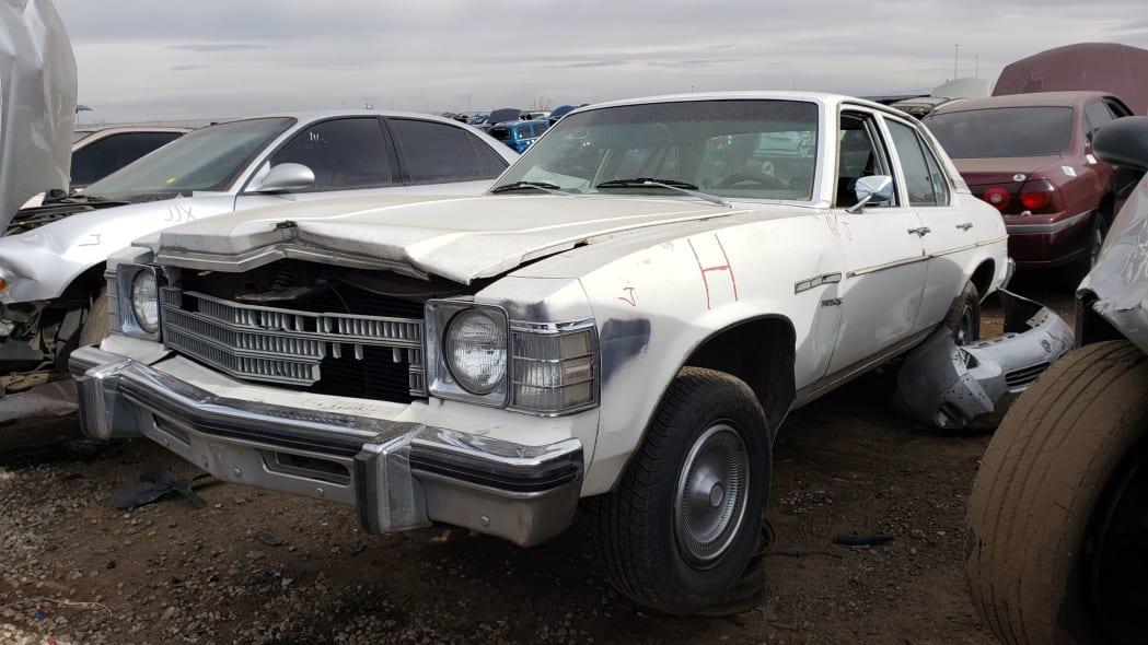 28 - 1978 Buick Skylark in Colorado junkyard - photo by Murilee Martin