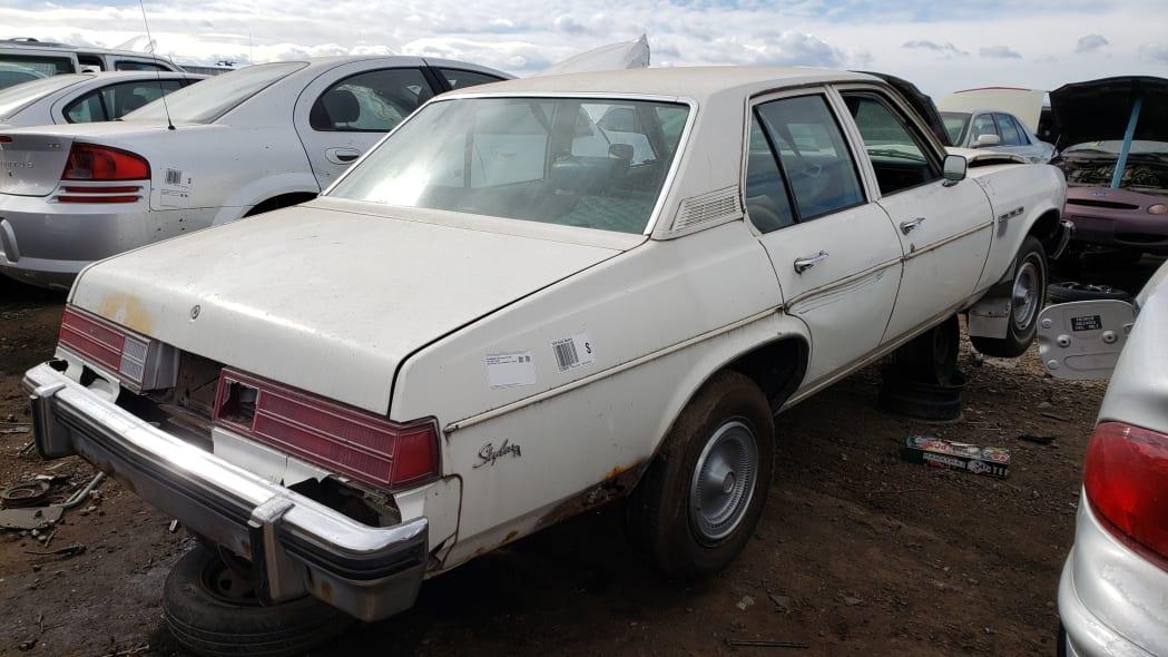 34 - 1978 Buick Skylark in Colorado junkyard - photo by Murilee Martin