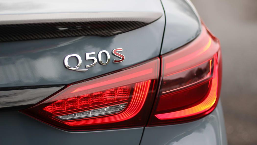 2021 Infiniti Q50 Red Sport 400