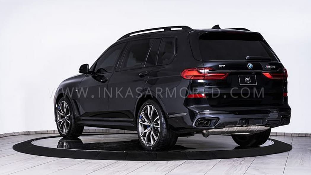 Inkas BMW X7 Armored-762x456