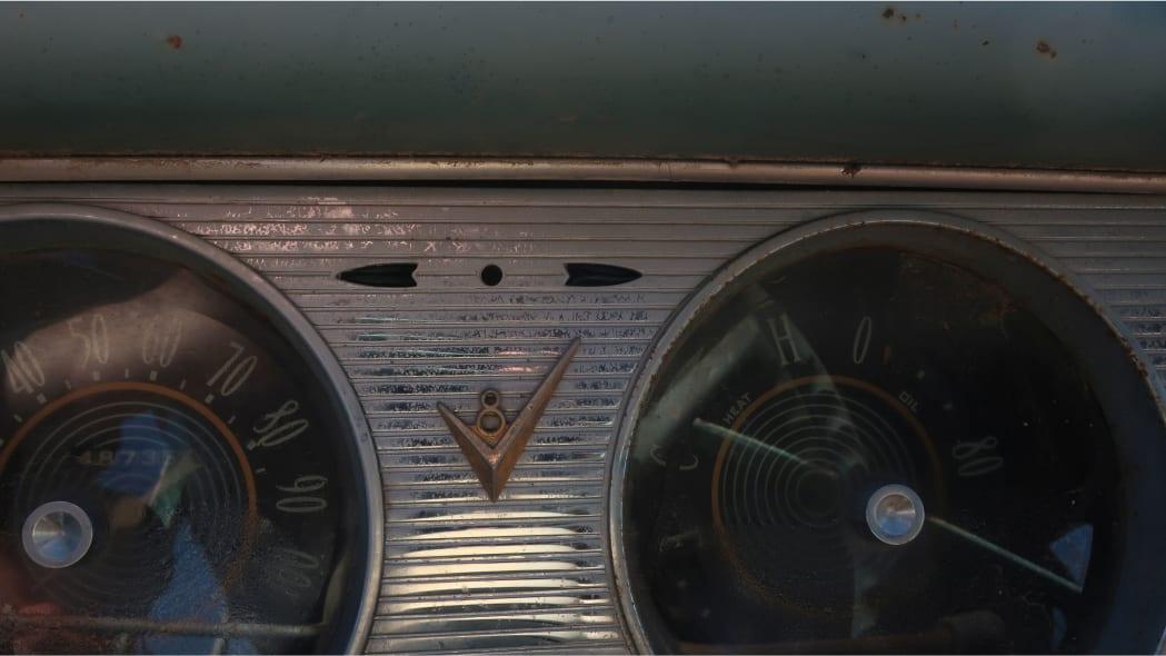 03 - 1955 Studebaker Station Wagon in Colorado Junkyard - photo by Murilee Martin