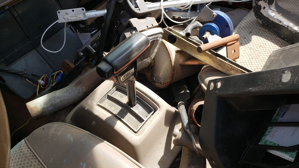 10 - 1984 Subaru BRAT in Colorado Junkyard - photo by Murilee Martin
