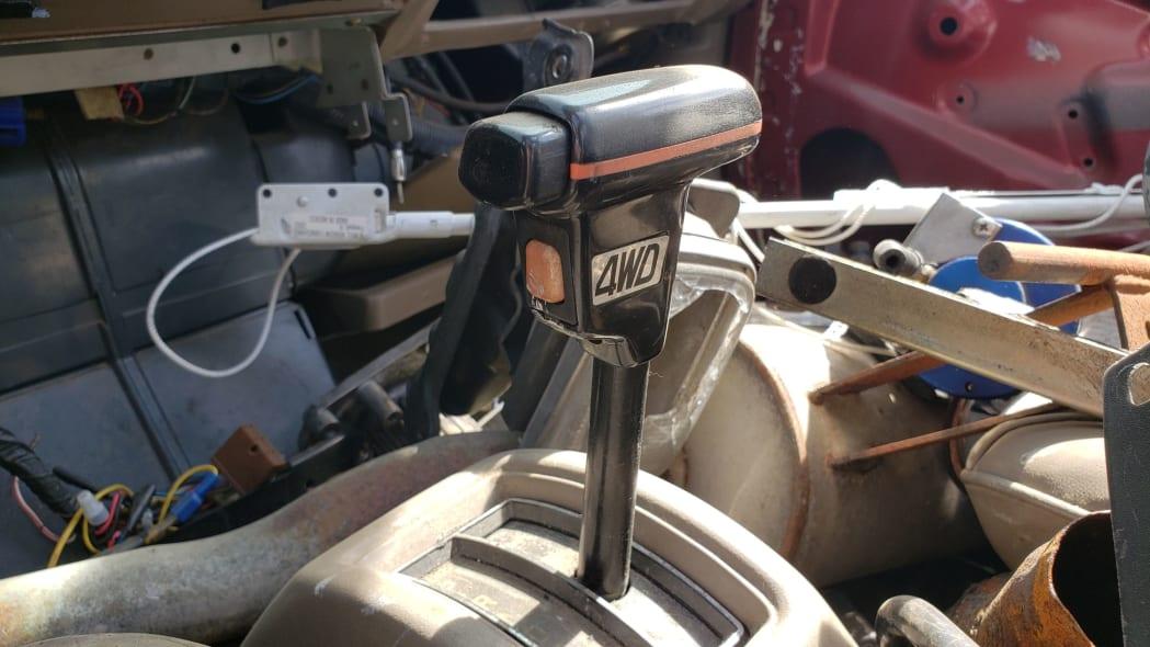 12 - 1984 Subaru BRAT in Colorado Junkyard - photo by Murilee Martin