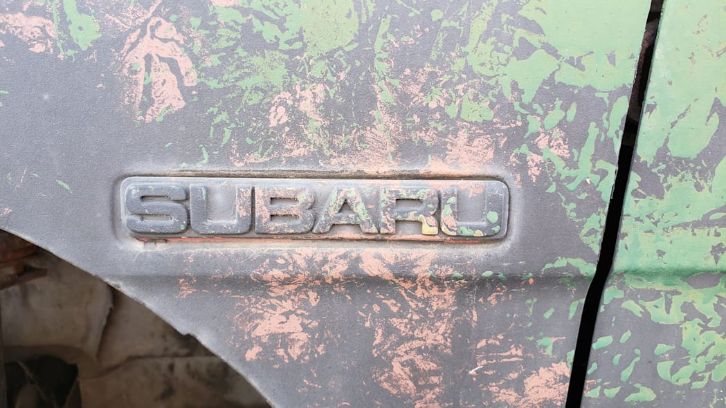19 - 1984 Subaru BRAT in Colorado Junkyard - photo by Murilee Martin