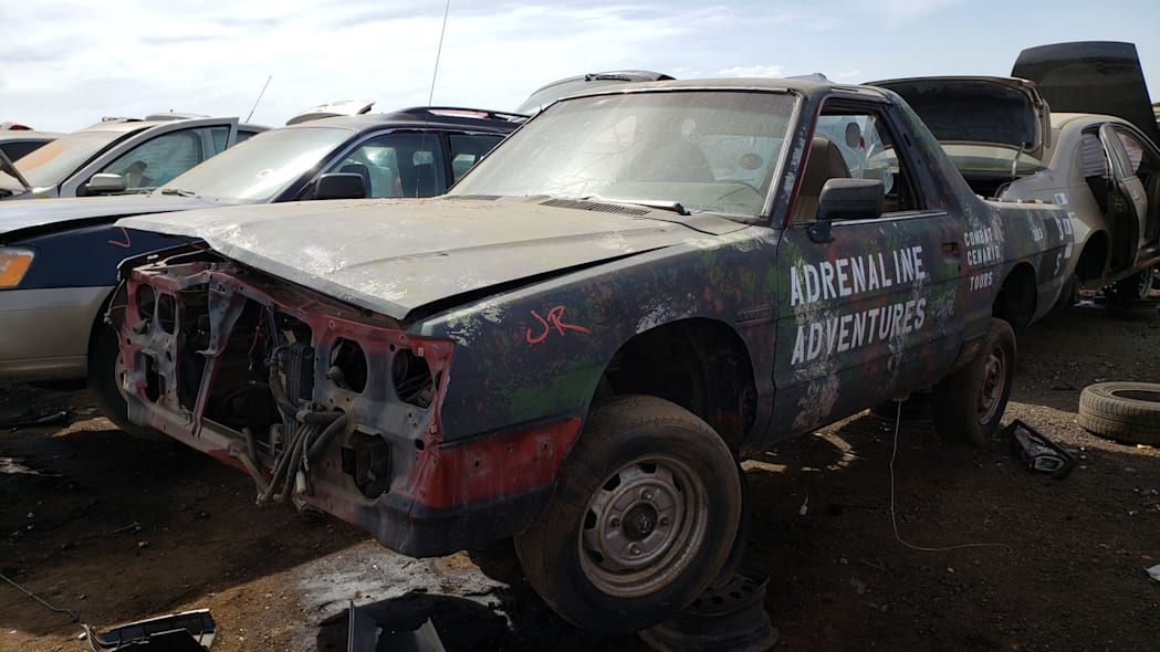 22 - 1984 Subaru BRAT in Colorado Junkyard - photo by Murilee Martin