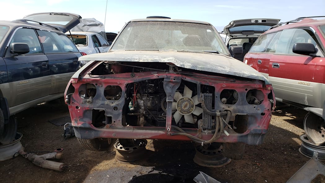 24 - 1984 Subaru BRAT in Colorado Junkyard - photo by Murilee Martin