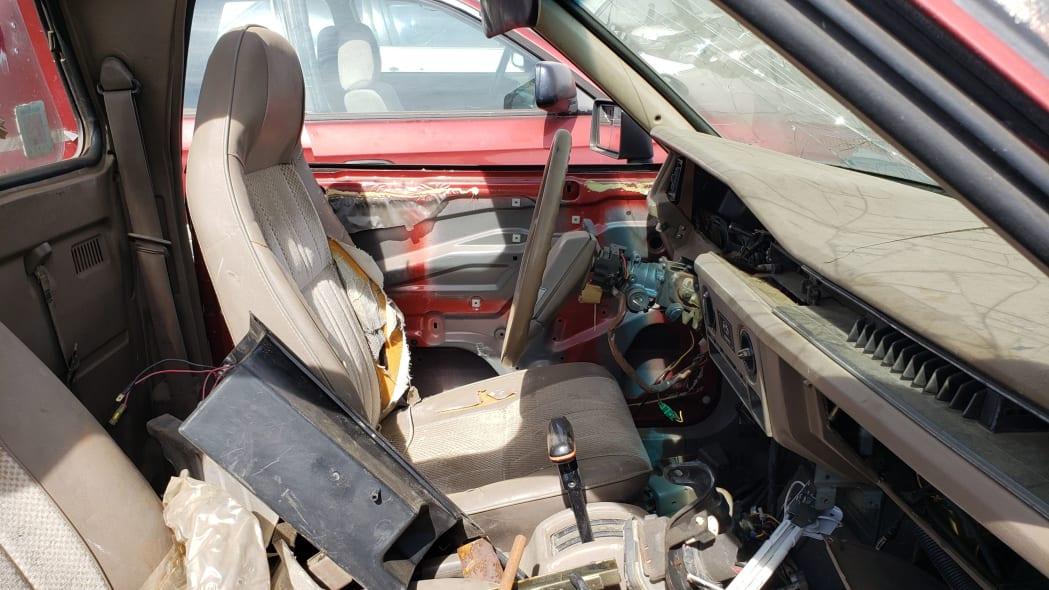 38 - 1984 Subaru BRAT in Colorado Junkyard - photo by Murilee Martin