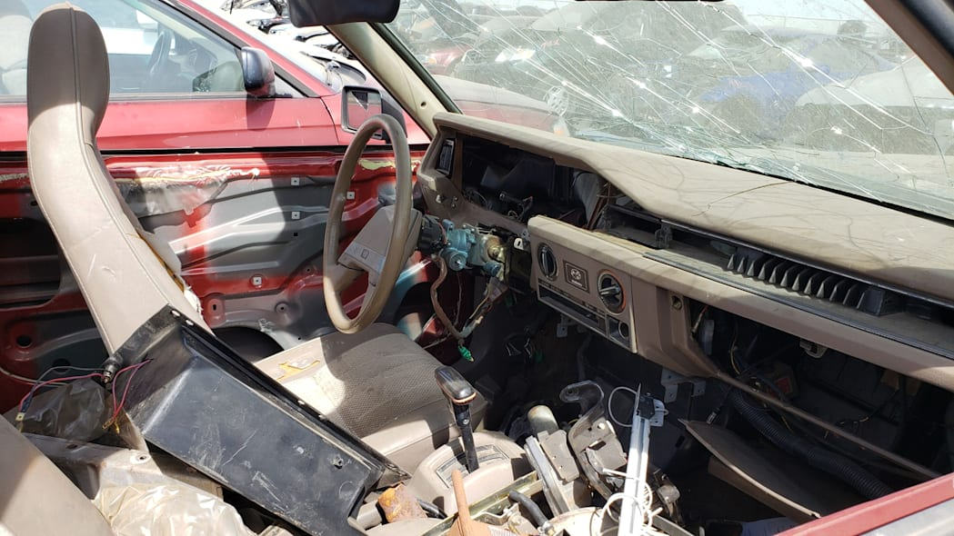 40 - 1984 Subaru BRAT in Colorado Junkyard - photo by Murilee Martin