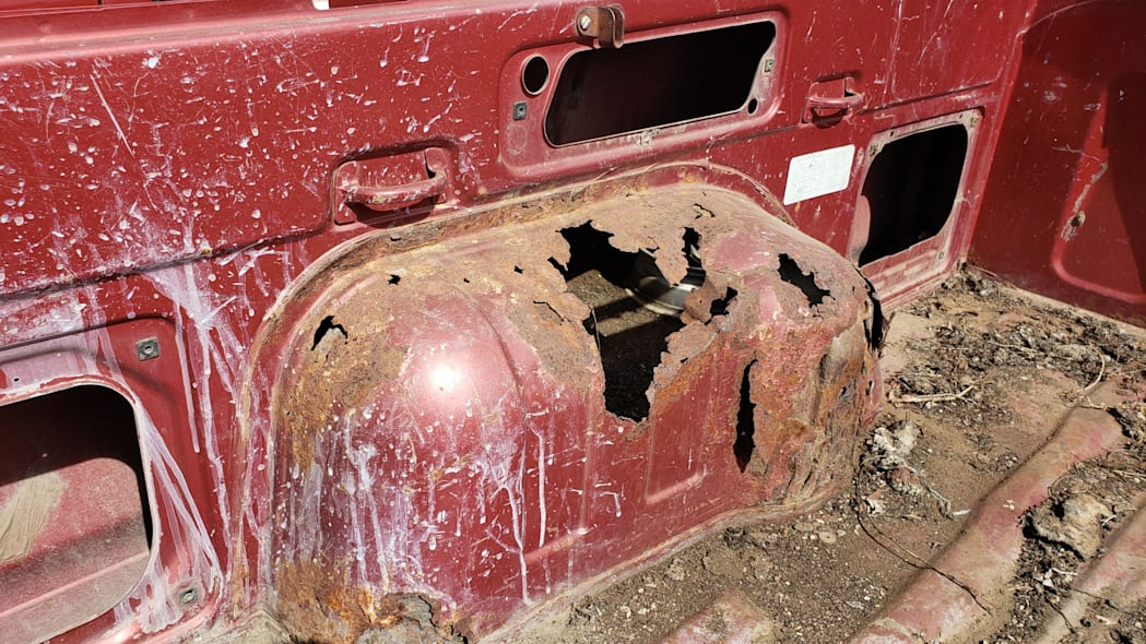 45 - 1984 Subaru BRAT in Colorado Junkyard - photo by Murilee Martin