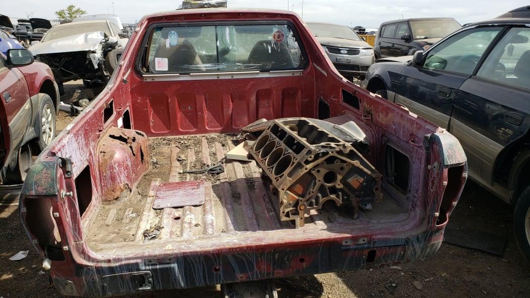51 - 1984 Subaru BRAT in Colorado Junkyard - photo by Murilee Martin